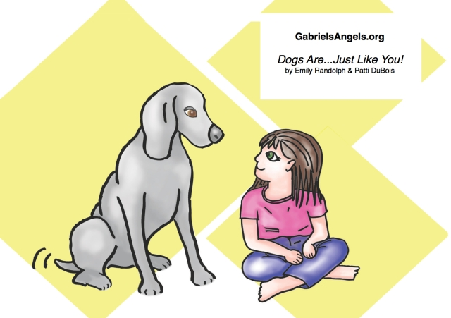 'Dogs Are...Just Like You!'; Illustration by Patti DuBois