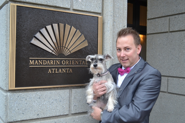 Luxury at its best for pooches at The Mandarin Oriental, Atlanta. Photo courtesy of the hotel.